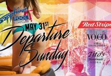 Sapphire Gems to host Departure Sunday at Sapphire Pool & Dayclub May 31