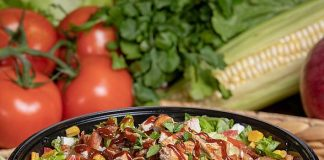 The New Southwest BBQ Chicken Salad Brings Smoky Southwest Flavor to The Habit Burger Grill