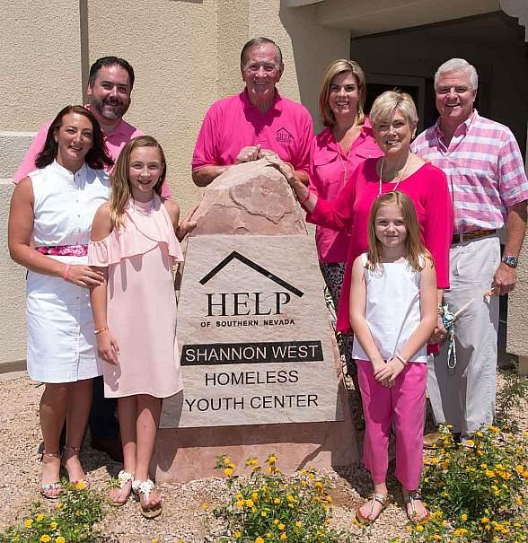 Help of Southern Nevada Opens New Shannon West Homeless Youth Center in Las Vegas