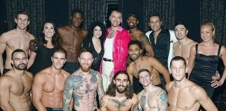"""Sam Smith Attends """"Magic Mike Live"""" at Hard Rock Hotel & Casino"""