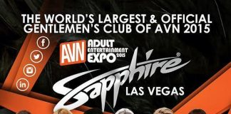 Sapphire to Host Official AVN and GFY Awards After Parties on Monday, Jan. 19, Thursday, Jan. 22, Friday, Jan. 23 and Saturday, Jan. 24