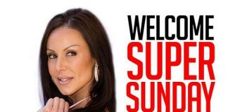 Adult Star Kendra Lust to Host the Sapphire Las Vegas Super Sunday Football Party on February 1, 2015