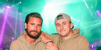 Scott Disick and Johnny Manziel Spotted at 1 OAK Las Vegas inside The Mirage