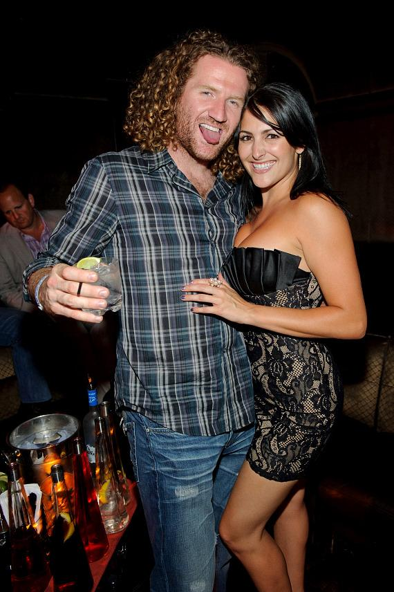 Scott Hartnell and friend at LAVO