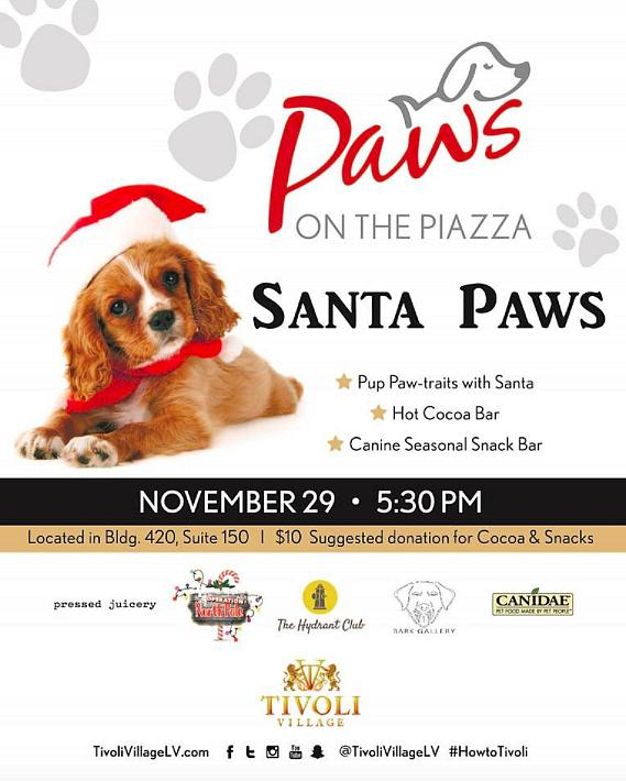 Tonight! Paws on the Piazz