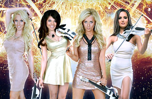 Tonight the Bella Strings Electric Pop Violin Band Returns with a New