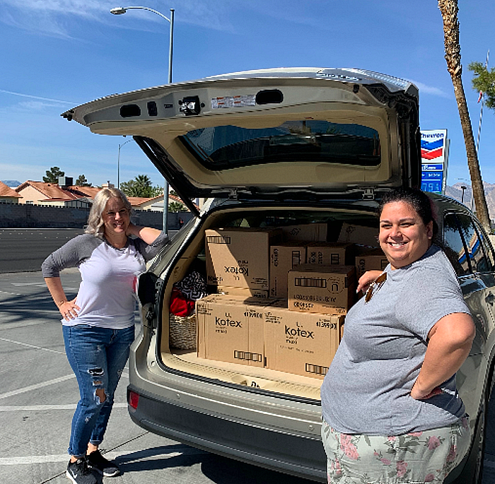 Project Marilyn Donates 10,000 Feminine Hygiene Products To Non-Profits In Need