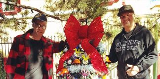 Murray the Magician Decorates at Opportunity Village Magical Forest in Las Vegas