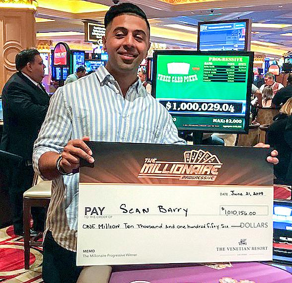 The Millionaire Progressive at The Venetian Resort Makes Another Lucky Guest a Millionaire