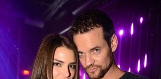 Shane West, Jesica Ahlberg and Jeremy Piven at The Sayers Club