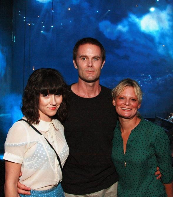 Shannon Woodward, Garret Dillahunt, Martha Plimpton at The Beatles LOVE