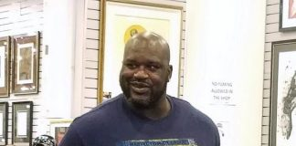 """Shaquille O'Neal visits the World Famous Gold & Silver Pawn Shop (""""Pawn Stars"""")"""