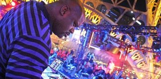 Retired National Basketball Association (NBA) Star Shaquille O'Neal Hosts a Pop-up DJ set at Chateau Nightclub & Rooftop at Paris Las Vegas