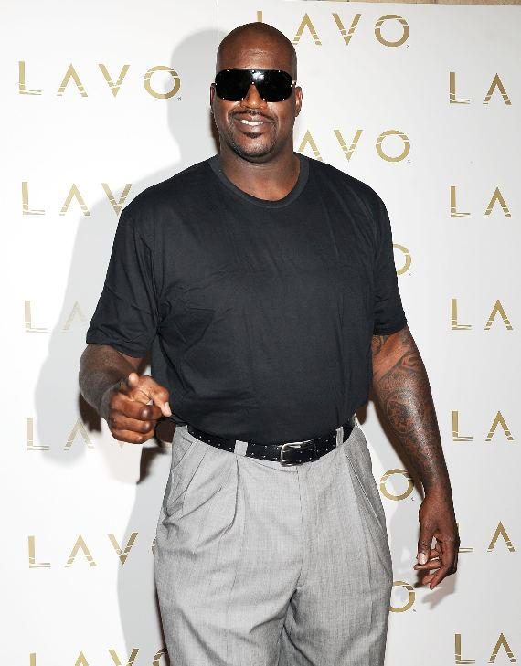 Shaquille O'Neal celebrates 40th Birthday at LAVO