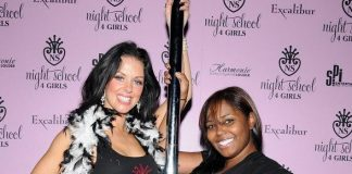 Instructor and FANTASY dancer Tracey with Shar ackson