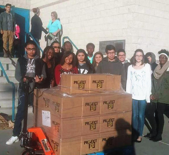 PROJECT 150 to Provide 3,000 Holiday Meals for Local Homeless High School Students