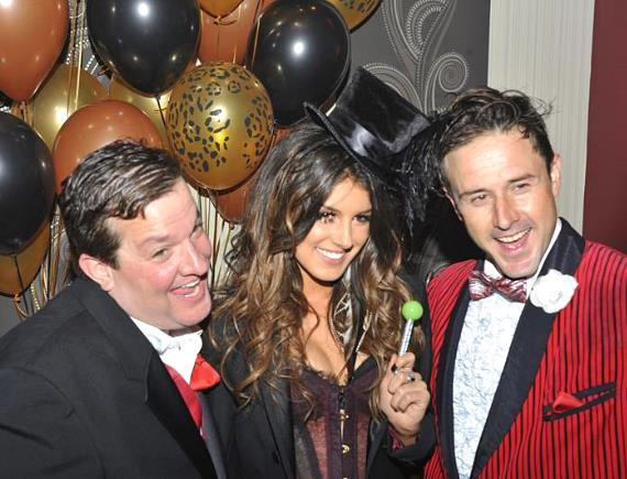 David Arquette with Sugar Factory's Couture Pop