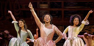 """Tickets for """"Hamilton"""" Performances May 29 – June 24, 2018 at The Smith Center Go On Sale April 28"""
