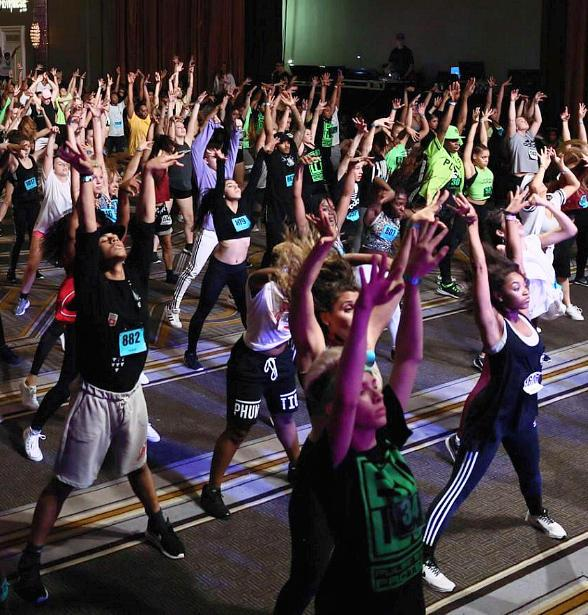 The PULSE on Tour - Celebrities Teaching Dance to Kids in Las Vegas