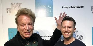 "Siegfried Fischbacher Attends ""Mat Franco - Magic Reinvented Nightly"" at The LINQ Hotel & Casino in Las Vegas"