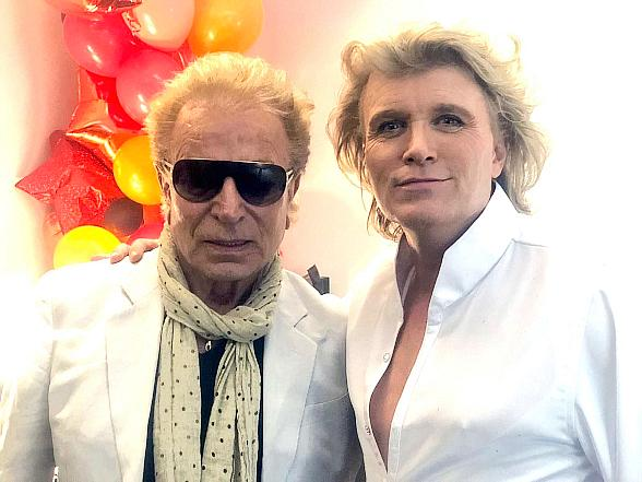 Legendary Magicians Siegfried and Roy Attend