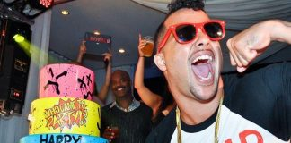 Sky Blu of LMFAO Celebrates 26th Birthday at PURE Nightclub