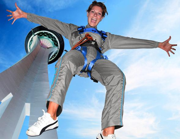 Stratosphere's SkyJump Las Vegas Approaching 100,000th Jump