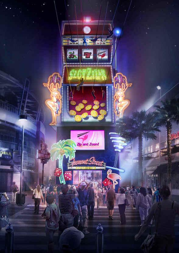 Fremont Street Experience Reveals Plans for SlotZilla, a New Attraction to Change Downtown Las Vegas