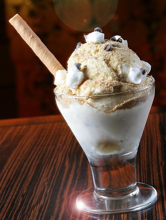 Peel on over to TREVI for Delicious Desserts, Holiday Specials and S'more