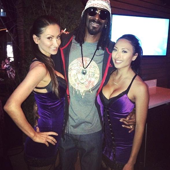 Snoop Dogg Spotted at Marquee Nightclub in Las Vegas