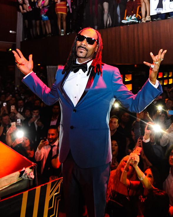 Drake, Snoop Dogg & DJ Khaled Celebrate New Year's Eve at Marquee, TAO and LAVO