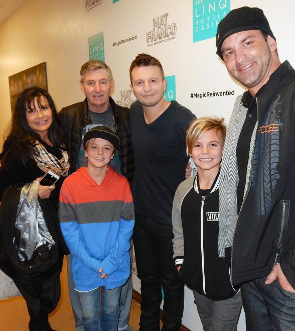 Britney Spears' sons attend