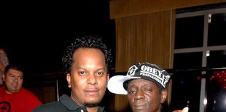 Special Ed and Flavor Flav at LAVO Old School Wednesday