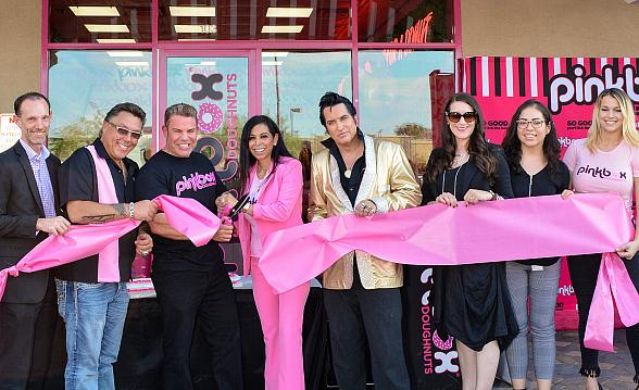 Pinkbox Doughnuts Hosted Ribbon Cutting Ceremony for New Southwest Location