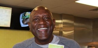 NBA All Star and Olympic Gold Medalist Spencer Haywood at Greens & Proteins