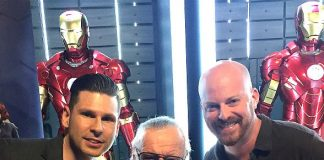 """Mike Hammer and Brian Shapiro of """"The Vegas Take"""" interview Comic Book Legend Stan Lee"""