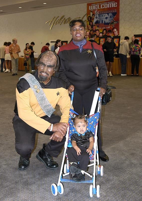 Star Trek fans in costume
