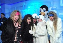 Steel Panther at Minus5 Ice Bar