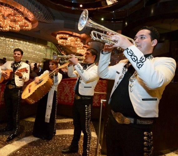 Strolling Mariachis