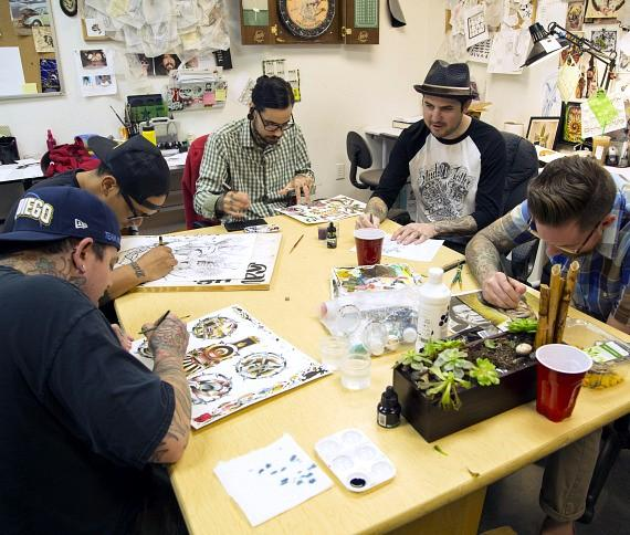 """""""Hot, Dry and Inked"""" Explores how the Desert Influences Tattoo Artists; New Tattoo Art Exhibit at The Springs Preserve Opens Sept. 18"""