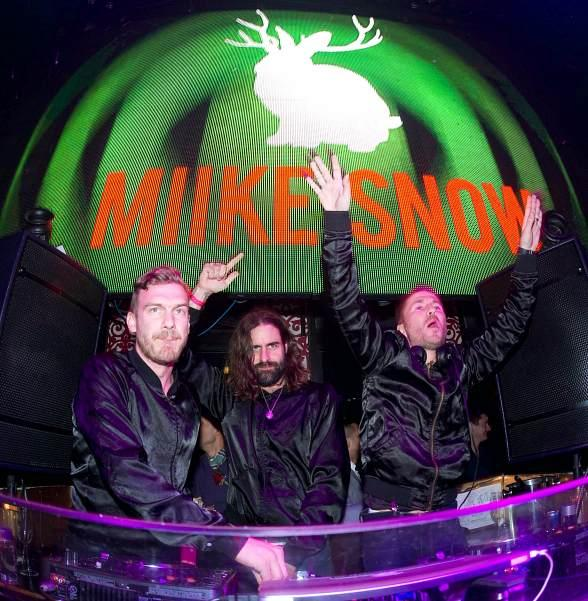 Swedish Indie Pop Band Miike Snow Performs at TAO