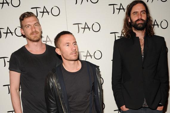 Swedish Indie Pop Band Miike Snow on red carpet at TAO