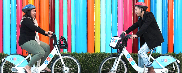"""RTC Bike Share Introduces """"Sweetheart Ride"""" Contest Just In Time For Valentine's Day!"""