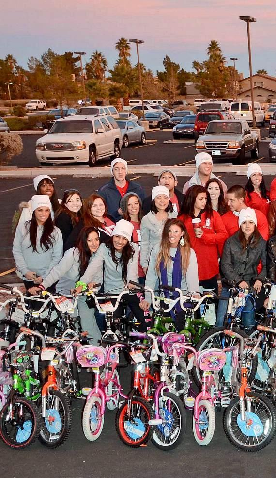 TAO and Marquee Cares toy drive