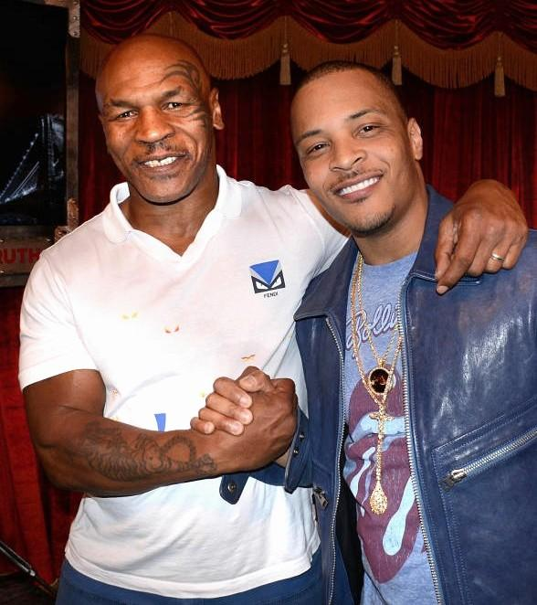 """Rapper T.I. attend """"Mike Tyson Undisputed Truth"""" at MGM Grand in Las Vegas"""