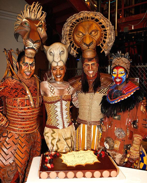 Cast Of Disney S The Lion King At Mandalay Bay Celebrate One Year Anniversary