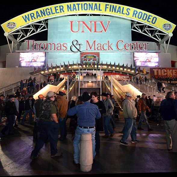Wrangler National Finals Rodeo Wraps Up at The Thomas & Mack Center in Las Vegas
