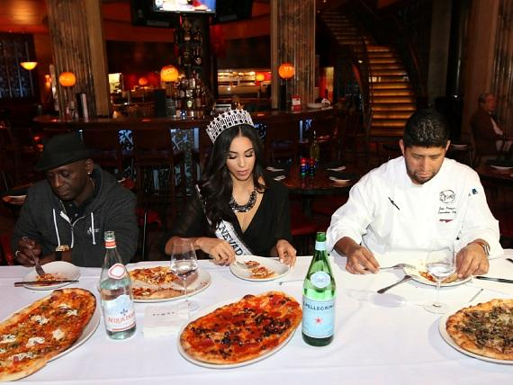 Local Media Personalities Compete in Charity Cooking Competition at TREVI Italian Restaurant