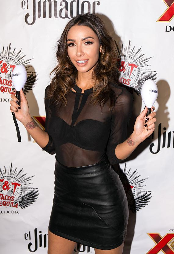 Model Michele Maturo at Sexy de Mayo Fiesta at Tacos & Tequila