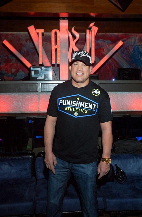 Tito Ortiz Inside Tabú at MGM Grand